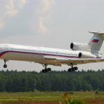 Арендовать ТУ-154 VIP, заказать самолет ТУ-154 в Швейцарию